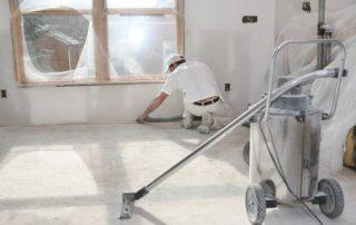 Byggvask under byggeperioden. Foto